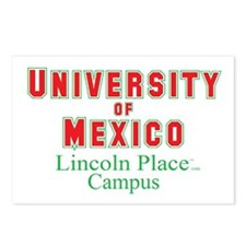 University of Mexico Lincoln Postcards (Package of