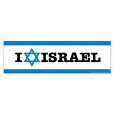 I STAR ISRAEL Bumper Sticker - Show your support!