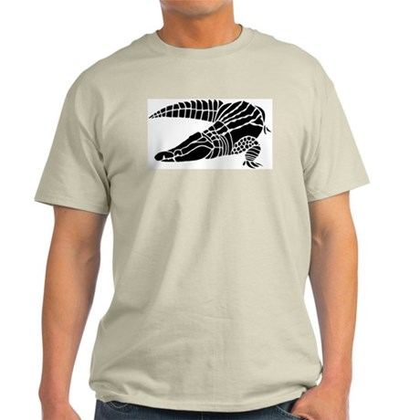 Alligator silhouette Light T-Shirt