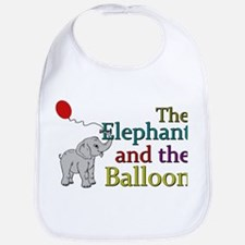 Elephant and the Balloon Bib