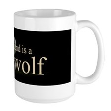 Boyfriend Werewolf Eclipse Ceramic Mugs
