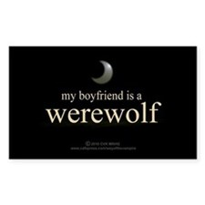 Boyfriend Werewolf Eclipse Decal