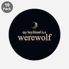 """Boyfriend Werewolf Eclipse 3.5"""" Button (10 pack)"""