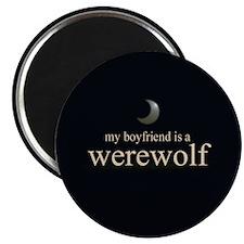 """Boyfriend Werewolf Eclipse 2.25"""" Magnet (100 pack)"""