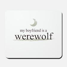 Boyfriend Werewolf Eclipse Mousepad