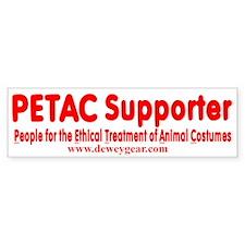 PETAC Supporter Bumper Sticker