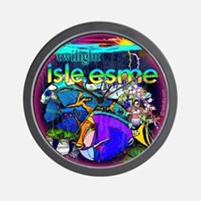 Twilight Isle Esme by Twibaby Wall Clock