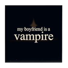 Boyfriend Vampire V3 Tile Coaster