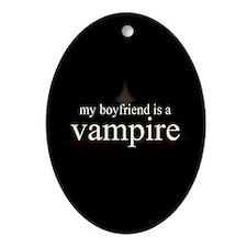 Boyfriend Vampire V3 Ornament (Oval)
