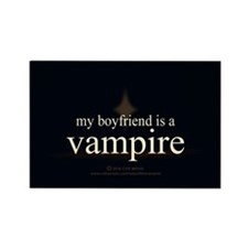 Boyfriend Vampire V3 Rectangle Magnet