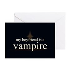 Boyfriend Vampire V3 Greeting Cards (Pk of 20)