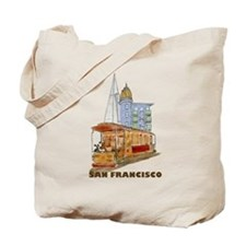 San Francisco - Be Green Tote Bag