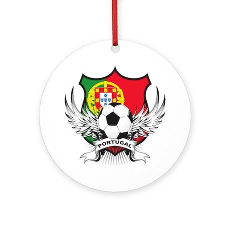 Portugal soccer Ornament (Round)