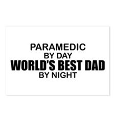 World's Best Dad - Paramedic Postcards (Package of