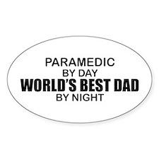 World's Best Dad - Paramedic Decal