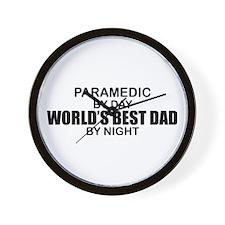 World's Best Dad - Paramedic Wall Clock