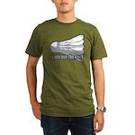 Shuttlecock! Organic Men's T-Shirt (dark)