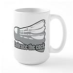 Shuttlecock! Large Mug