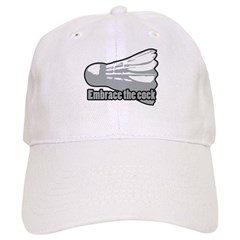 Shuttlecock! Baseball Cap