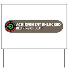 Achievement Unlocked! Yard Sign
