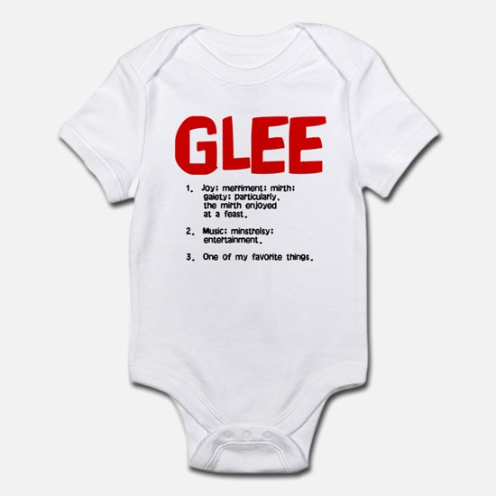 glee defined Infant Bodysuit
