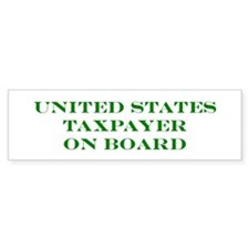 US Taxpayer Bumper Sticker