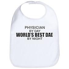 World's Best Dad - Physician Bib
