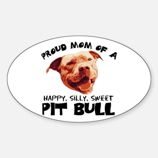 Happy Silly Sweet Sticker (Oval)
