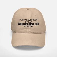World's Best Dad - Postal Worker Baseball Baseball Cap