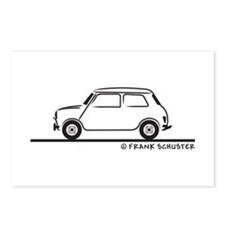 Classic Mini Cooper Postcards (Package of 8)
