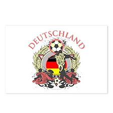 Deutschland Soccer Postcards (Package of 8)