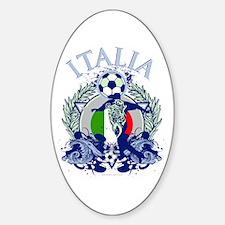 Italia Soccer Decal