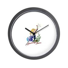 Unique Amazing grace Wall Clock