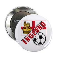 """England World Soccer Team 2.25"""" Button (10 pack)"""