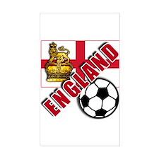 England World Soccer Team Decal