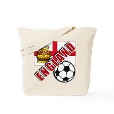 England World Soccer Team Tote Bag