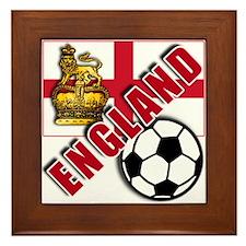 England World Soccer Team Framed Tile