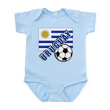 URUGUAY Soccer Team Infant Bodysuit