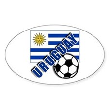 URUGUAY Soccer Team Decal