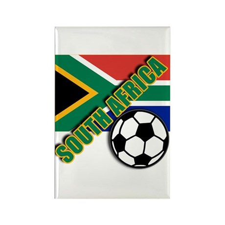 World Soccer South Africa Team T-shirts Rectangle