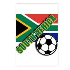 World Soccer South Africa Team T-shirts Postcards