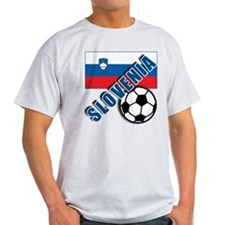 World Soccer SLOVENIA Team T-shirts T-Shirt