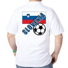 World Soccer SLOVENIA Team T-shirts T-Shirt