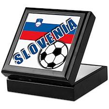 World Soccer SLOVENIA Team T-shirts Keepsake Box