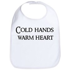 Cold hands, warm heart Bib