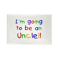 Going to be an Uncle Rectangle Magnet