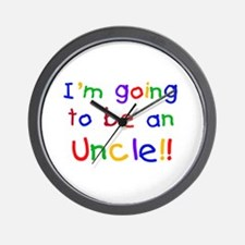 Going to be an Uncle Wall Clock