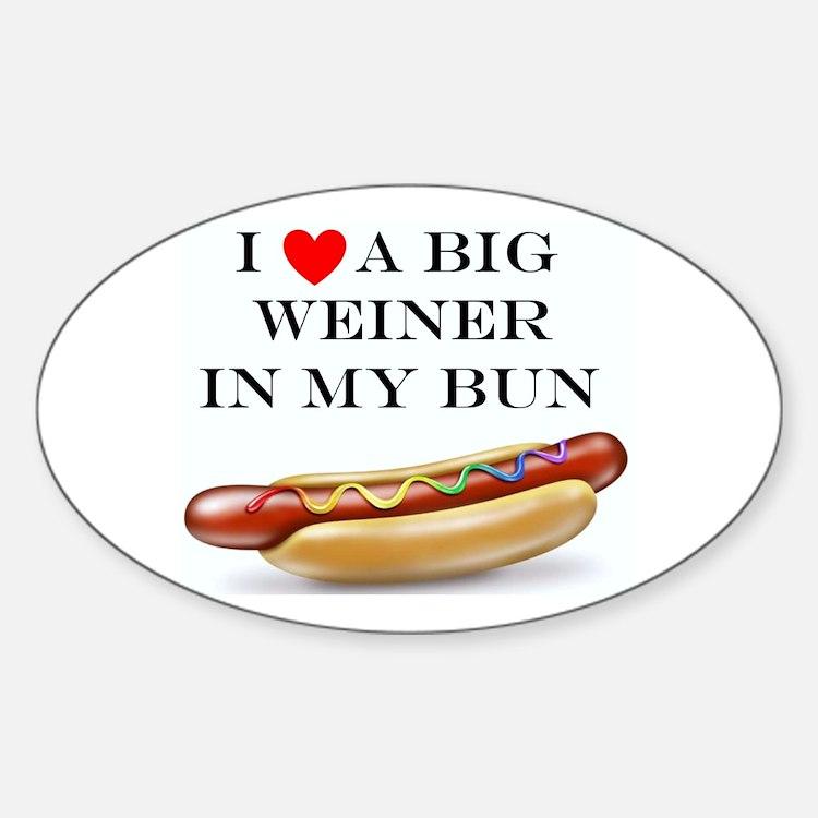 I Love Weiner Bumper Stickers