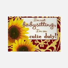 Cute New job Rectangle Magnet (100 pack)