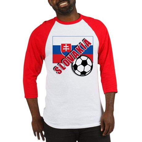 World Soccer Slovakia Team T-shirts Baseball Jerse